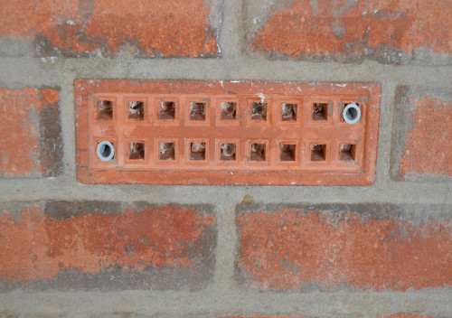 image of standard air brick that can be protected by floodkit air brick plate as a flood barrier
